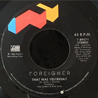 45 Purse - 80s Rock F-K - Foreigner That Was Yesterday