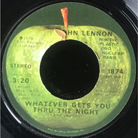 45 Purse - Beatles - John Lennon Whatever Gets You Thru The Night