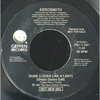 45 Purse - Special Records - Aerosmith Dude (Looks Like A Lady) Promo