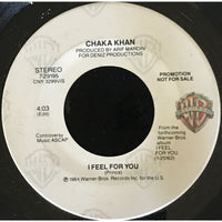 45 Purse - Special Records - Chaka Khan I Feel For You Promo