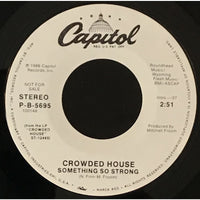 45 Purse - Special Records - Crowded House Something So Strong Promo