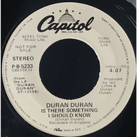 45 Purse - Special Records - Duran Duran Is There Something I Should Know Promo