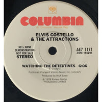 45 Purse - Special Records - Elvis Costello Watching The Detective Demo