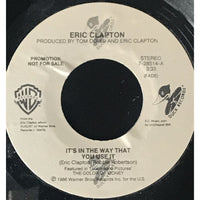 45 Purse - Special Records - Eric Clapton Its In The Way That You Use It Promo