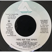 45 Purse - Special Records - Graham Parker You Hit The Spot Promo