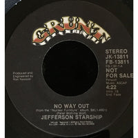 45 Purse - Special Records - Jefferson Starship No Way Out Promo