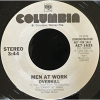 45 Purse - Special Records - Men at Work Overkill Demo