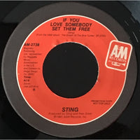 45 Purse - Special Records - Sting If You Love Somebody... Promo