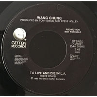 45 Purse - Special Records - Wang Chung To Live And Die In L.A. Promo