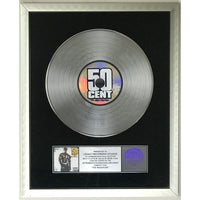 50 Cent The Massacre RIAA 5x Platinum Award - Record Award