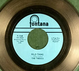 "The Troggs ""Wild Thing"" 1966 Label No 1 Award"