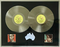 Rolling Stones Tattoo You 1981 Australian Label Platinum Award presented Bill Wyman - RARE