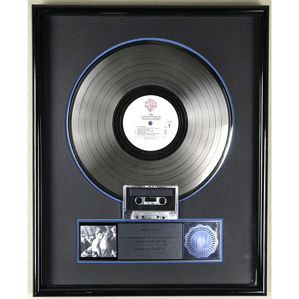 a-ha Hunting High And Low RIAA Platinum Album Award
