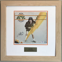 AC/DC High Voltage album signed by Angus Young w/PSA COA