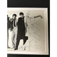 Annie Lennox Dave Stewart +3 signed The Tourists promo photo w/BAS LOA - Poster