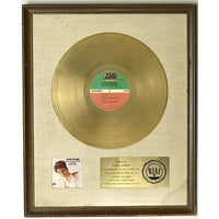 Aretha Franklin I Never Loved A Man The Way I Love You White Matte RIAA Gold LP Award - RARE
