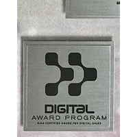 AWOLNATION Sail RIAA Digital Platinum Single Award - New - Record Award