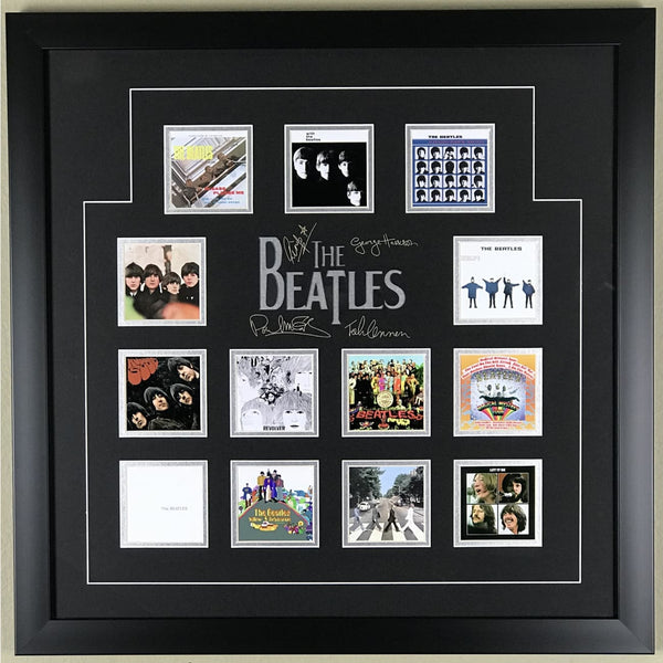 Beatles Album Montage Collectible - Medium