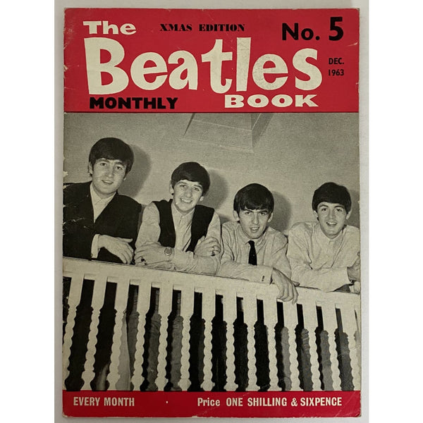 Beatles Book Monthly Magazine Dec 1963 Issue #5 - RARE - Music Memorabilia