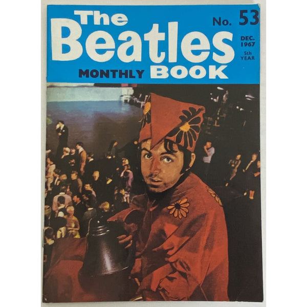 Beatles Book Monthly Magazine Dec 1967 Issue #53 - RARE - Music Memorabilia