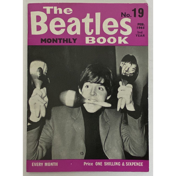 Beatles Book Monthly Magazine Feb 1965 Issue #19 - RARE - Music Memorabilia