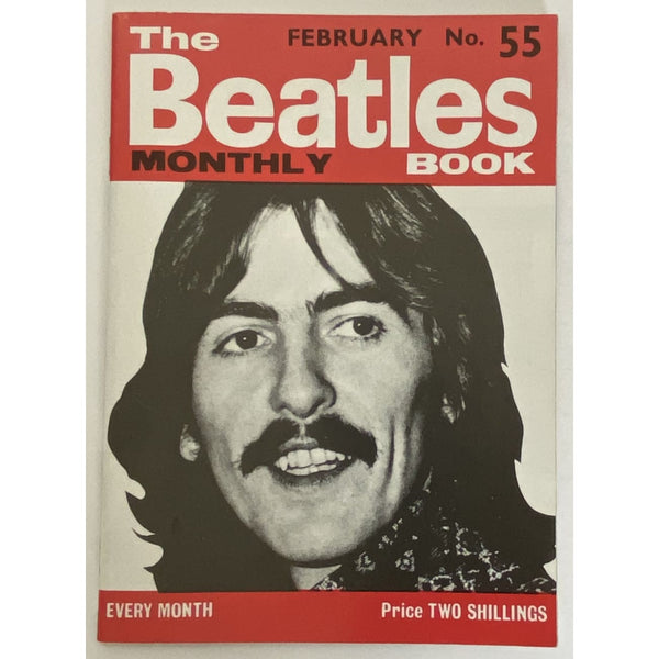 Beatles Book Monthly Magazine Feb 1968 Issue #55 - RARE - Music Memorabilia