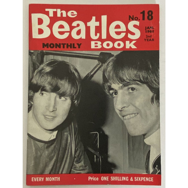Beatles Book Monthly Magazine Jan 1965 Issue #18 - RARE - Music Memorabilia