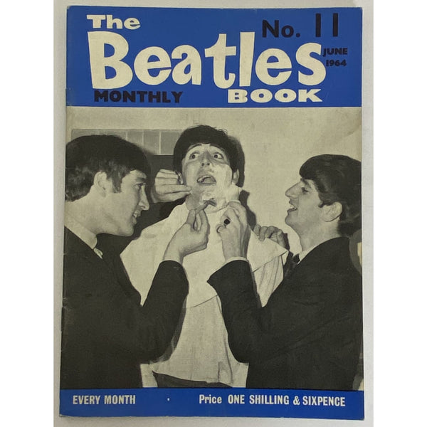 Beatles Book Monthly Magazine June 1964 Issue #11 - RARE - Music Memorabilia
