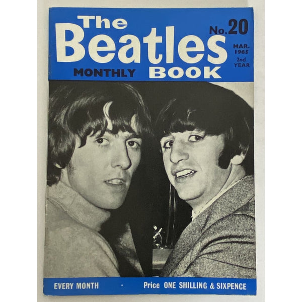 Beatles Book Monthly Magazine Mar 1965 Issue #20 - RARE - Music Memorabilia
