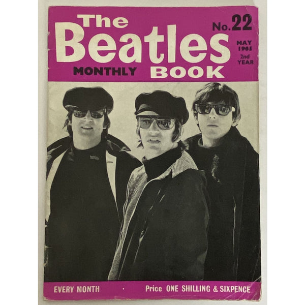 Beatles Book Monthly Magazine May 1965 Issue #22 - RARE - Music Memorabilia