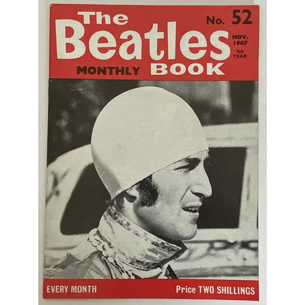 Beatles Book Monthly Magazine Nov 1967 Issue #52 - RARE - Music Memorabilia