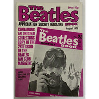 Beatles Book Monthly Magazines 1970s Issues - original 2nd era - sold individually - AUG 1978/Excellent - Music Memorabilia