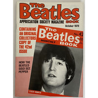 Beatles Book Monthly Magazines 1970s Issues - original 2nd era - sold individually - OCT 1979/Very Good - Music Memorabilia