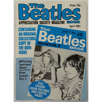 Beatles Book Monthly Magazines 1981 Issues - Original - sold individually - APR 1981/Excellent - Music Memorabilia