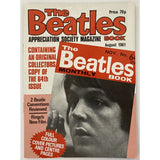 Beatles Book Monthly Magazines 1981 Issues - Original - sold individually - AUG 1981/Excellent - Music Memorabilia
