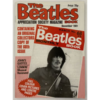 Beatles Book Monthly Magazines 1981 Issues - Original - sold individually - DEC 1981/Excellent - Music Memorabilia