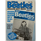 Beatles Book Monthly Magazines 1981 Issues - Original - sold individually - OCT 1981/Excellent - Music Memorabilia