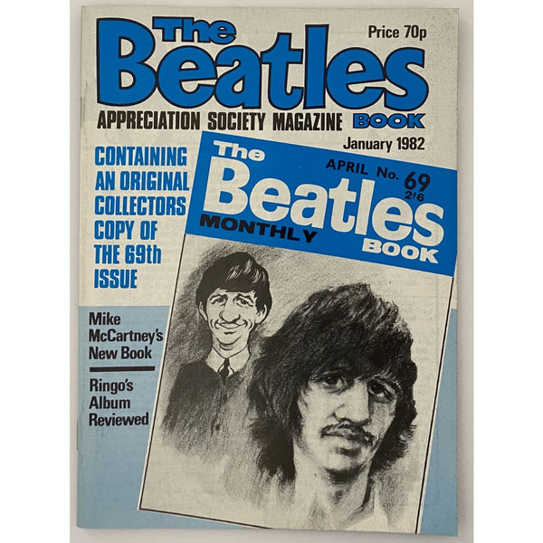 Beatles Book Monthly Magazines 1982 Issues - original 2nd era - sold individually - JAN 1982/Excellent - Music Memorabilia
