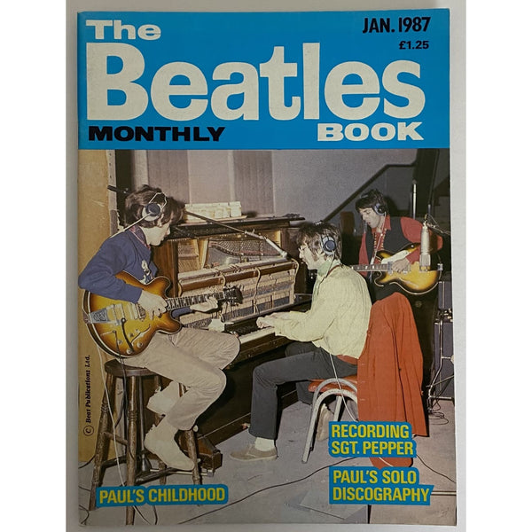Beatles Book Monthly Magazines 1987 Issues - original 3rd era - sold individually - JAN 1987/Excellent - Music Memorabilia