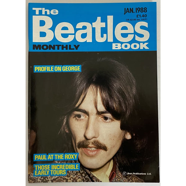 Beatles Book Monthly Magazines 1988 Issues - original 3rd era - sold individually - JAN 1988/Excellent - Music Memorabilia