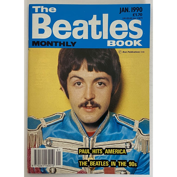 Beatles Book Monthly Magazines 1990 Issues - original 3rd era - sold individually - JAN 1990/Excellent - Music Memorabilia