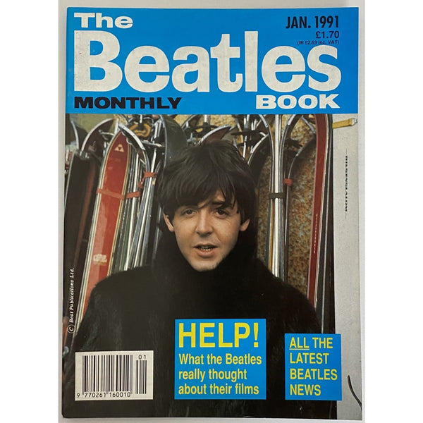 Beatles Book Monthly Magazines 1991 Issues - original 3rd era - sold individually - JAN 1991/Excellent - Music Memorabilia