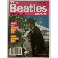 Beatles Book Monthly Magazines 1992 Issues - original 3rd era - sold individually - AUG 1992/Excellent - Music Memorabilia