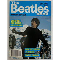 Beatles Book Monthly Magazines 1992 Issues - original 3rd era - sold individually - JAN 1992/Excellent - Music Memorabilia