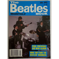 Beatles Book Monthly Magazines 1993 Issues - original 3rd era - sold individually - JAN 1993/Excellent - Music Memorabilia