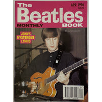 Beatles Book Monthly Magazines 1996 Issues - original 3rd era - sold individually - APR 1996/Excellent - Music Memorabilia