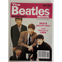 Beatles Book Monthly Magazines 1998 Issues - original 3rd era - sold individually - JUNE 1998/Excellent - Music Memorabilia