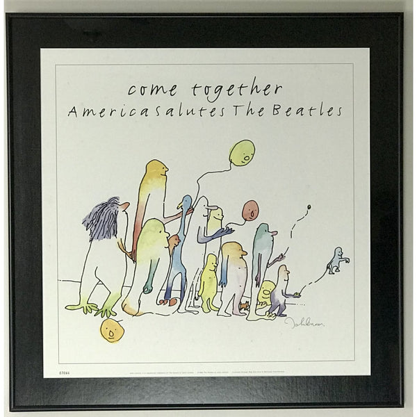 Beatles Come Together Limited Edition Poster - Framed - Poster