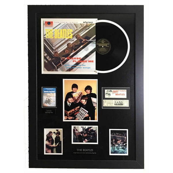 Beatles Memorabilia Collage - Large