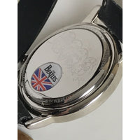 Beatles Officially Licensed Silver Face Watch - New - Music Memorabilia
